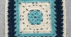 Ravelry: Project Gallery for Winter Dream 12 inch crochet granny square pattern by April Moreland