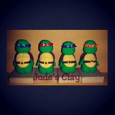 Tmnt in clay