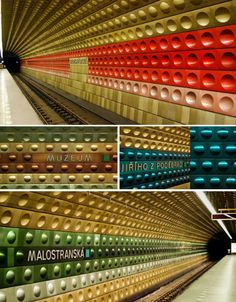 Modern Metro: 14 of the World's Coolest Subway Stations