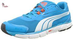 Puma Speed 1000 S Ignite - Chaussures de Course - Mixte Adulte - Multicolore (Quarry/AtomicBleu/White) - 41 EU (7.5 UK) 3y42Cy3JZK