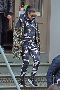 Rihanna's Take on Camo Has Nothing to Do with Blending In