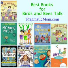 The Birds and Bees Talk, a book list to help with that important but uncomfortable talk! :: PragmaticMom