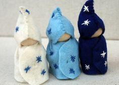 star children - run a string through the hat for an ornament