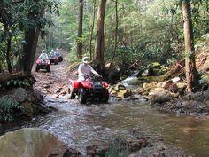 ATV Rides, Bluff Mtn Adventures- Sevierville, TN. Mmmmkkkk ;) I will head to Tennessee !!!