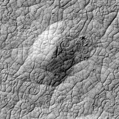 Spirals on Mars's surface #space #planet #mars