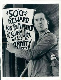 1974 actor David Carradine in 1970s tv series Kung Fu