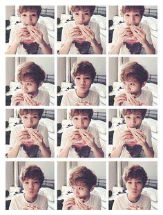 Luhan being a little ball of cuteness