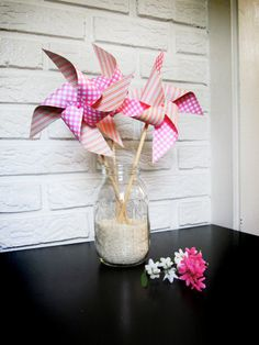 Reception Centerpiece for kids table