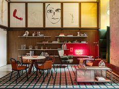 Room Mate Giulia Hotel by Patricia Urquiola in Milan. Courtesy of Room Mate Giulia Hotel.
