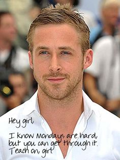 More Teachers: Best Ryan Gosling Memes of All Time - Celebrity Pictures | Hollyscoop