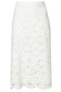 Topshop Lace Pencil Skirt, £60 - New In Store