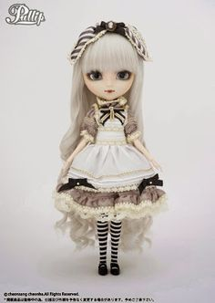 Goth Shopaholic: Stunning New Alice Sepia Doll from Pullip