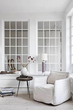 Home of AIAYU partner Marie Worsaae in RUM Interiør & Design, via Scandinavian Love Song