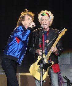 Mick Jagger & Keith Richards - 29 May 2018