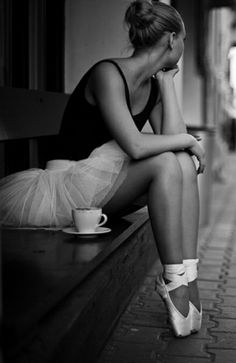 #morning #coffee #ballerina