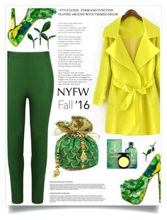 """""""i'm Coming for NYFW!"""" by heyra ❤ liked on Polyvore featuring Andrea Marques, Shoe Republic LA, Calvin Klein, MAC Cosmetics and NYFW"""