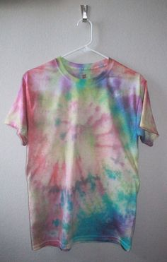 Unisex Tie Dye Shirt-Spiral Vintage by TieDyeDominion on Etsy