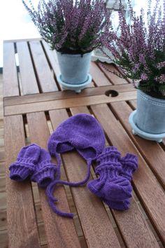 Spending My Time - Paulan neuleblogi: Vauvan myssy, sukat ja lapaset Viking Baby Ull2.5...
