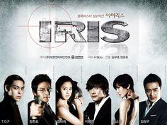 Iris--Korean Drama.