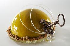 Pistachio mirror glaze