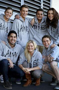 Cast 2014 - Denny, Oscar, Jett, Sasha, Andy, Ricky and Matt.