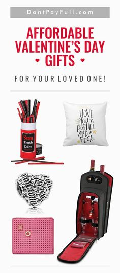 Super Affordable Valentine's Day Gifts for Your Loved One #DontPayFull
