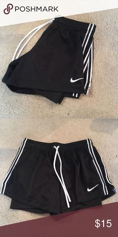 Nike Pro Shorts Used a few times but then never worn again. Still in perfect condition! I have other colors in my closet if you want to bundle them let me know 🤗 I'll give a great discount!! Nike Shorts