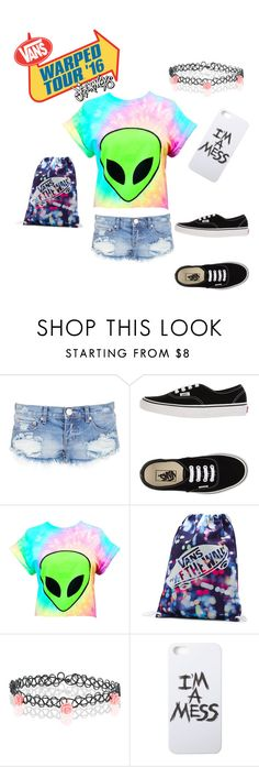 """""""Vans Warped Tour 2016"""" by xxkayzylovesbandsxx ❤ liked on Polyvore featuring One Teaspoon, Vans, Accessorize and LAUREN MOSHI"""