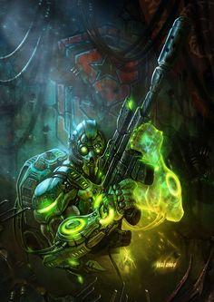 StarCraft II: Wings of Liberty - Ghost