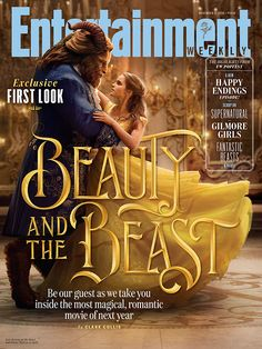 First Look: Emma Watson Makes the Perfect Belle In Her Iconic Yellow Gown | Beauty and the Beast | [ http://di.sn/60098Egpf ]