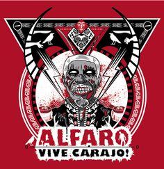 ALFARO VIVE CARAJO !!! on Behance