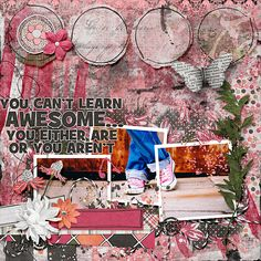 Digital Scrapbooking, Artsy, Layout, Templates, Create, Awesome, Shop, Stencils, Page Layout