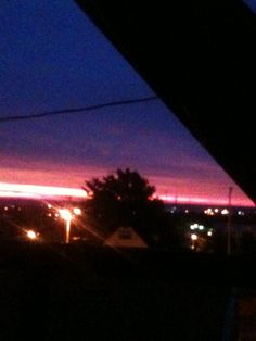 Photo I took of the sunrise from my balcony. *Amanda Gard (Mandi Gard's) photography*