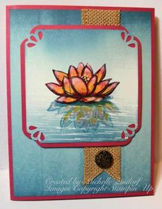 Floating in the Water – Stampin' Up! Card