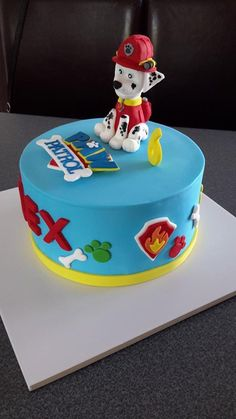 Paw Patrol Cake - Homemade By Hollie.