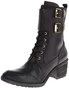 $328, Donald J Pliner Danti Combat Boot. Sold by Amazon.com. Click for more info: https://lookastic.com/women/shop_items/139523/redirect