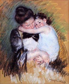 Mother And Child 2 by Mary Cassatt