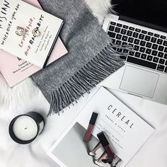 Fashion blogger Tiffany Jais daily inspiration featuring cereal magazine with a Nordstrom fringe scarf | What's trending in women's fashion 2016