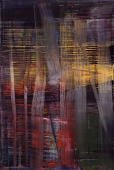 Gerhard Richter » Art » Paintings » Abstracts » Forest » 892-4