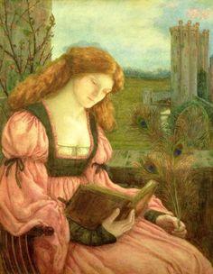 Marie Spartali Stillman (1844 – 1927) – Pintora Inglesa_13