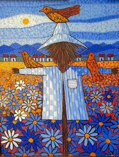 Candido Bido - Scarecrow with Birds