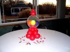 Il mondo gumball machine on pinterest gumball machine for Balloon decoration machine