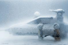 Looks Cold: LEGO Star Wars On Hoth - Geekologie