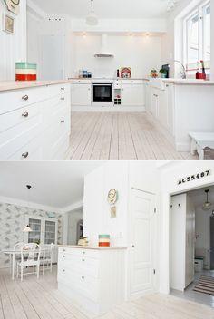 Bilder från mitt gamla hus. Me like! Kitchen Island, Kitchen Cabinets, Interior, Places, Home Decor, Island Kitchen, Decoration Home, Room Decor, Kitchen Cupboards