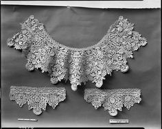 Collar and cuffs | French | The Met