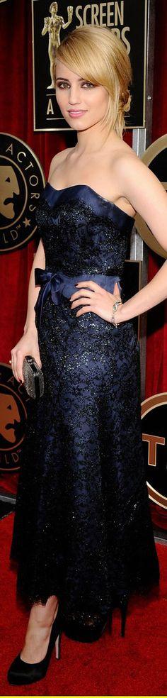 Dianna Agron Chanel dress
