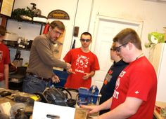 In the shop - FRC3729 has lots To Do when building a robot #FIRST #FRC #omgrobots https://www.facebook.com/RegisJesuitRobotics
