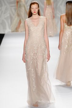 Monique Lhuillier Spring 2014 Ready-to-Wear