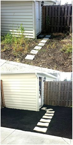 Before & After: #mulching helps prevent weeds, holds moisture and, in most cases, adds organic matter and nutrients to the soil.  More on our mulching services here: http://goo.gl/vj7C8D