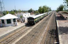 Railway Station Sarhad, on Rohri - Khanpur Section, Sindh, Pakistan.